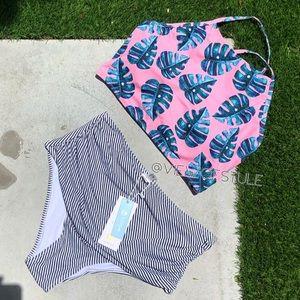 Cupsche print bikini set